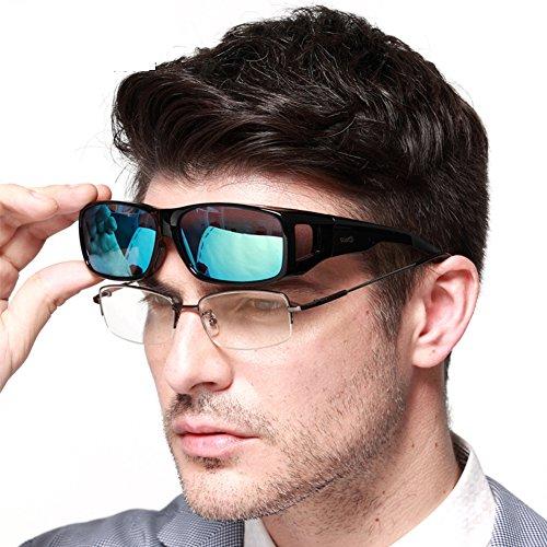 Duco-Herren-und-Damen-Sonnenbrille-Polarisiert-Unisex-Brille-berbrille-fr-Brillentrger-Fit-over-Polbrille-8953
