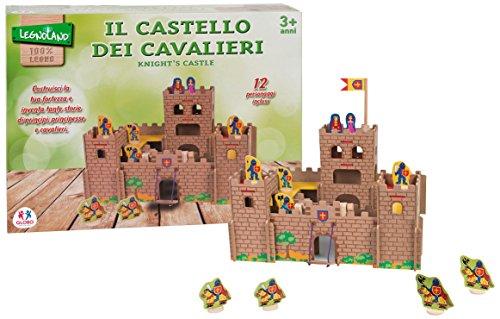 Legnoland 36577 - Castello in Legno con Personaggi