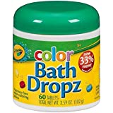 Crayola Color Bath Dropz 3.59 Ounce (60 Tablets) (Discontinued by manufacturer)