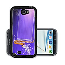 buy Liili Premium Samsung Galaxy Note 2 Aluminum Snap Case Abstrat Color Saxophone Music Background With Space A Photo 15208047