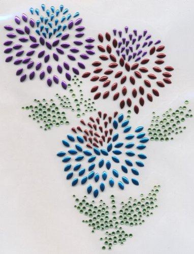 Sue's Sparklers - Mums Flowers Rhinestone Transfer