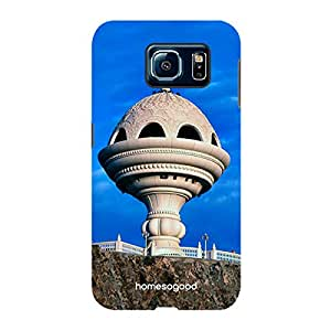 HomeSoGood Culture Of Muscat Blue 3D Mobile Case For Samsung S6 ( Back Cover)