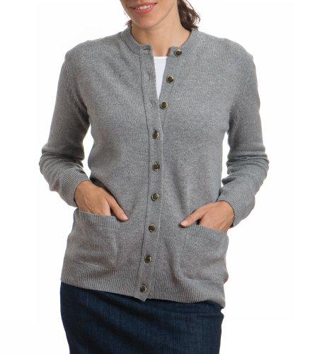 couleur attrayante très loué authentique Gilet Long Femme: #2 Wool Overs Gilet col rond en laine d ...