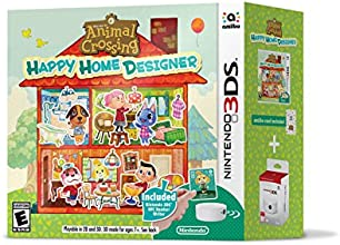 Nintendo Animal Crossing: Happy Home Designer Bundle w/ amiibo Card + NFC Reader/Writer