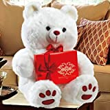 Cuddles and Hugs - Giant plush Teddy Bear with Boxed Chocolates