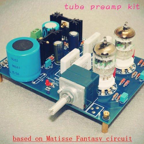 Douk Tube Preamp Amplifier Diy Kit Ge5670 Bsaed On Matisse Fantasy For Hifi