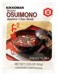 Kikkoman Instant Osuimono Japanese Clear Broth