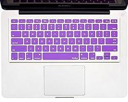 Kuzy - Purple Keyboard Silicone Cover Skin For Macbook / Macbook Pro 13