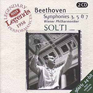 "Symphonies n° 3 ""Héroïque"", n° 5 & n° 7 (coll. Decca Legends)"
