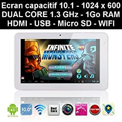 Zenithink C93 - Tablette tactile 10 pouces - Dual Core 1.3 GHz - 8Go ROM - 1Go RAM - WIFI