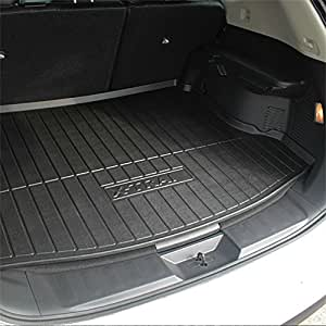 vesul rubber rear trunk liner cargo floor tray. Black Bedroom Furniture Sets. Home Design Ideas