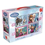 "Disney Frozen 4-in-1 Jigsaw Puzzle ""N..."