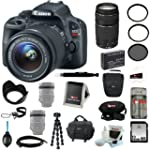 Canon EOS Rebel SL1 with EF-S 18-55mm...