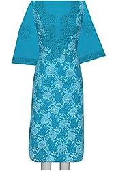 ADA Women Ethnic Lucknow Chikan Traditional Kurta Dress Material A94986
