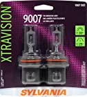 Sylvania 9007 XV XtraVision Halogen Headlight Bulb (Low/High Beam), (Pack of 2)
