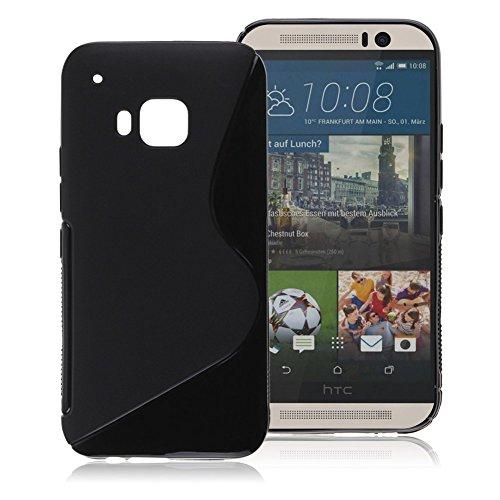 gr8value-clear-case-thin-transparent-soft-gel-s-tpu-silicone-case-cover-htc-one-m7-plain-black-s-gel