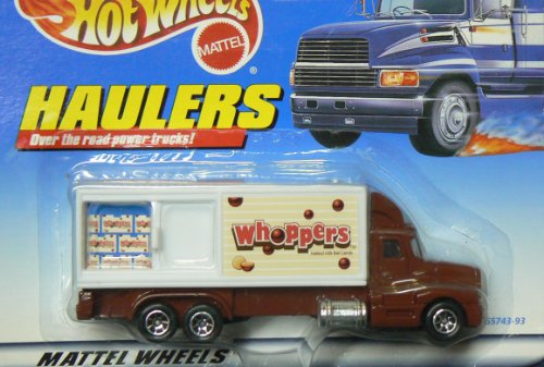 Hot Wheel Haulers Whoppers Truck 1997 Series - 1