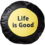 life is good daisy tire cover black 30 inch jeep life is good tire cover. Black Bedroom Furniture Sets. Home Design Ideas