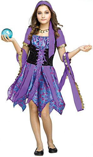 [Gypsy Magic Kids Costume] (Gypsy Costumes Girl)