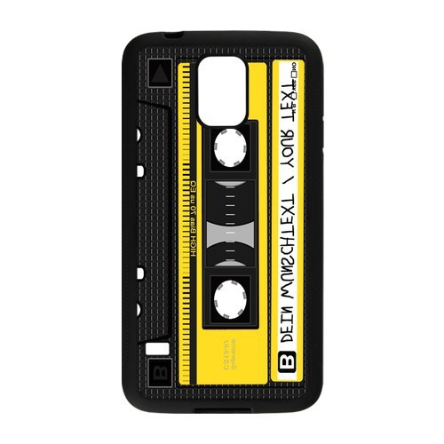 Nymeria 19 Customized Cassette Tape Diy Design For Samsung Galaxy S5 Hard Back Cover Case De-30