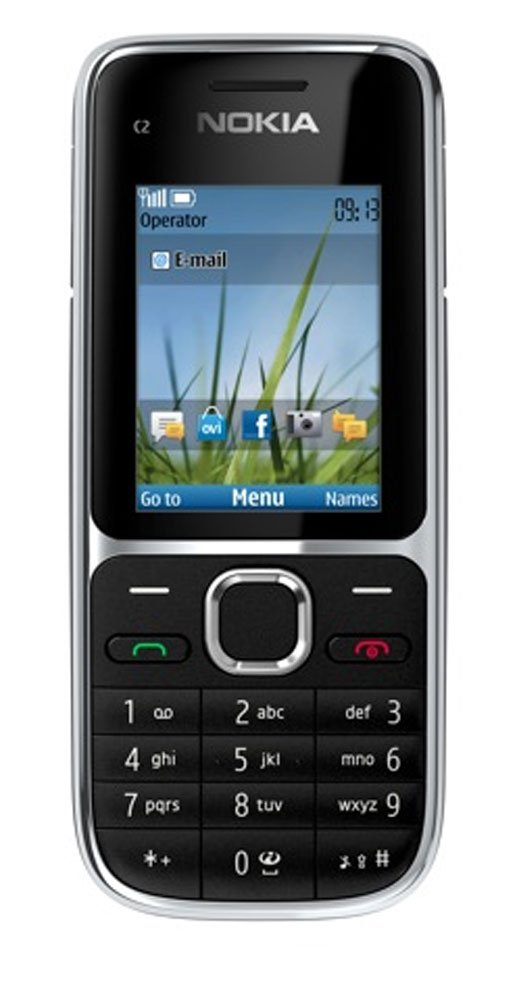 T Mobile Nokia C2-01 Pay As You Go Mobile Phone - Black: Amazon.co ...