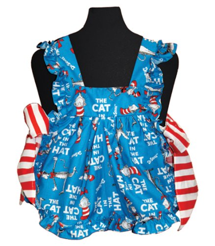 Dr. Seuss in the Kitchen Suzie Q Toddler's Apron, Cat in the Hat