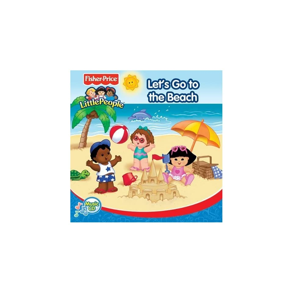Fisher Price Little People Lets Go to the Beach