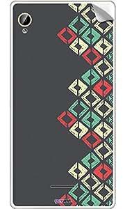 GsmKart IAPH Mobile Skin for Intex Aqua Power Hd (Grey, Aqua Power Hd-459)