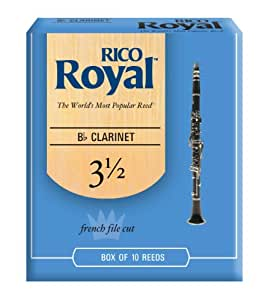 RICO ロイヤル リード Bbクラリネット 強度:3.5(10枚入)ファイルド RCB1035