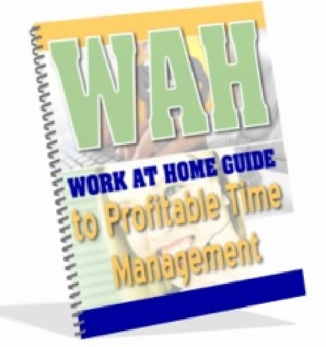 Work At Home Guide to Profitable Time Management AAA+++