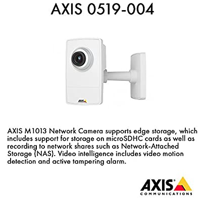 Axis Communications 0519-004 Network Camera for Security Systems