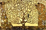 Gustav Klimt Tree of Life 24-by-36-Inch Art Poster Print