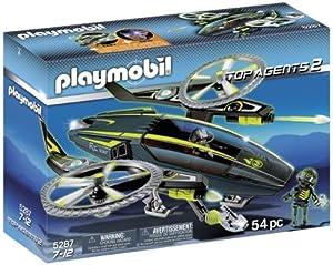 Playmobil Agentes Secretos 2 - Nave de ataque (5287)