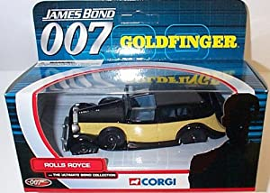 corgi james bond 007 rolls royce goldfinger the ultimate bond collection diecast model