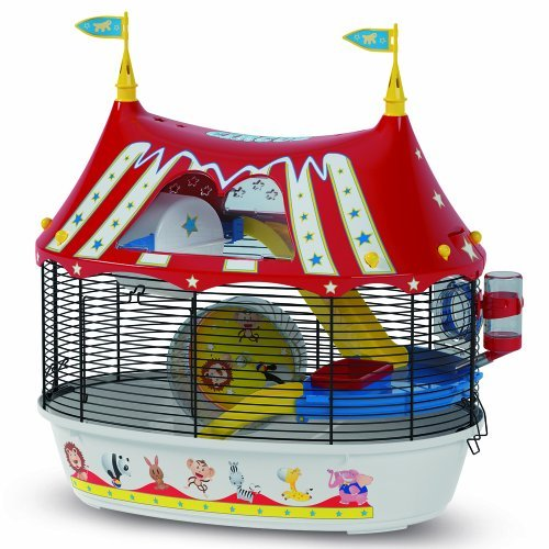 Ferplast Circus Fun Hamster Cage front-87651