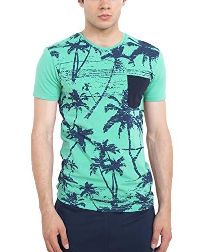Cazador Camiseta Manga Corta Verde