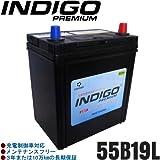 INDIGOプレミアムバッテリー エブリィ【型式EBD-DA64V 2005年8月~ K6Aエンジン 標準車】