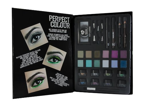 Jigsaw Perfect Colour Ultimate Eyes Kit 28 Pezzi - Ombretti + Polvere Luminosa + Mascara + Matite Oc