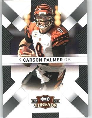Carson Palmer - Cincinnati Bengals - 2009 Donruss Threads NFL Football Trading Card in Protective Screwdown Case!