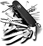 Victorinox Swiss Army Swisschamp Knife Black