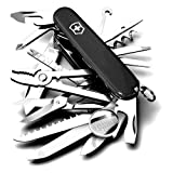 Victorinox Swiss Army Swisschamp Knife Blackby Victorinox