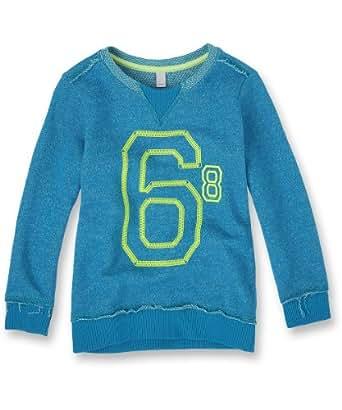 ESPRIT Boys' Sweatshirt - Blue (STRONG BLUE) - 9 years (Brand size: 128+) (Brand size: Herstellergröße: 128+)