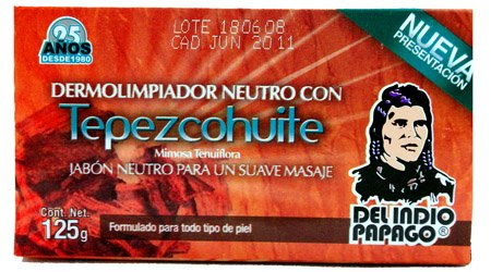 Tepezcohuite - Neutral Derma Cleaner Soap