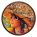 Wall Clocks - Printland Pretty Girl Wall Clock