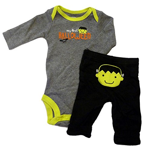 Carters Infant Boys My First Halloween Outfit Frankenstein Bodysuit & Pants