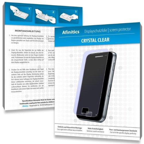 Afinitics MY040614 kristallklar hartbeschichtet Displayschutzfolie für Philips SA2ARA08K02 Ariaz 8GB (2-er Pack)