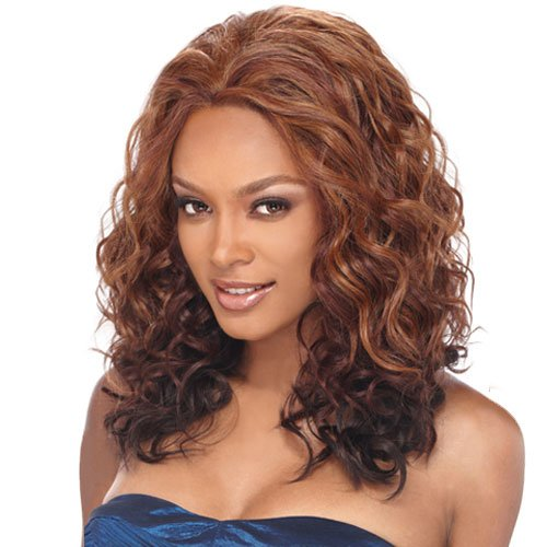Synthetic Lace Front Wig OUTRE Berry Color DX2327