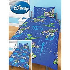toy story 3 parure de lit simple housse de couette taie d 39 oreiller jeux et jouets. Black Bedroom Furniture Sets. Home Design Ideas