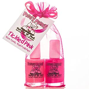 Piggy Paint TICKLED PINK (2PK) - Angel Kisses and Forever Fancy
