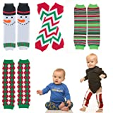 juDanzy Christmas baby & toddler Leg warmers in various styles for boys & girls